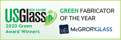 Solar-Powered McGrory Glass Awarded Green Fabricator of the Year