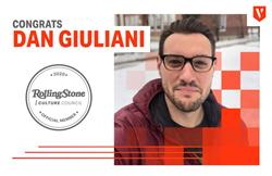 Dan Giuliani, Rolling Stone Culture Council