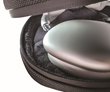 Plush interior keeps AirPods Max scratch-free — top and bottom layers of closed-cell foam help disperse external forces and resist compression