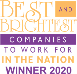 National Best and Brightest 2020 Winners Logo