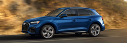 2021 Audi Q5 driving side view