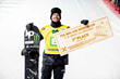 Monster Energy's Max Parrot Takes Gold in Snowboard Big Air at the FIS Snowboard Park & Pipe World Cup in Kreischberg, Austria