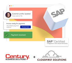 CloudFirst and Century partner to bring seamless credit card processing directly into SAP Business One.