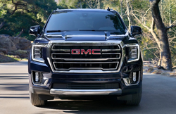 Front end of the 2021 GMC Yukon