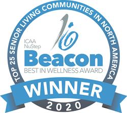 """ICAA NuStep Beacon """"Best in Wellness"""" Award"""