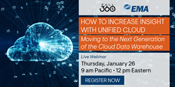 """How to Increase Insight with Unified Cloud Analytics: Moving to the Next Generation of the Cloud Data Warehouse"" Webinar"