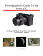 White Knight Press Releases Full-Color, Detailed Guidebook for Sony a7C Compact Full-Frame Camera