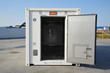 Refrigerated container for vaccine transportation