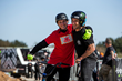 Monster Energy/s Andy Buckworth and Larry Edgar at the Monster Energy BMX Triple Challenge