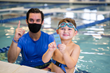 Big Blue's professional swim instructors create and celebrate Big Moments in the pool which lead to kids learning they can achieve anything in life.