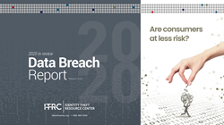 The ITRC's 2020 Data Breach Report shows that the number of individuals impacted is down 66 percent from 2019.