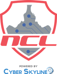 NCL Powered By Cyber Skyline Centered Logo
