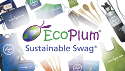 EcoPlum Sustainable Swag and ChicoBag Reusable products