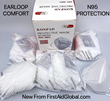 KN95 Earloop Masks are extremely comfortable and more affordable than traditional N95 Masks