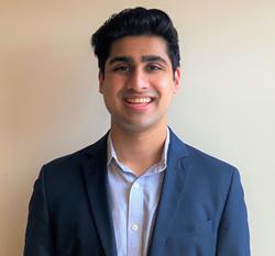 Veeraj Shah, 2021 Gates Cambridge Scholar from the University of Maryland