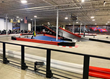 elevated go kart track at K1 Speed Oxford in Michigan