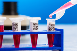 QR-Coded Eppendorf Tubes