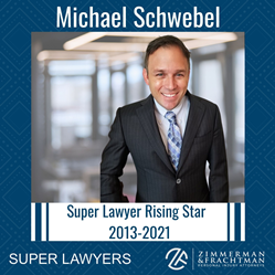 Michael Schwebel of Zimmerman & Frachtman recognized as Super Lawyer for 9th straight year