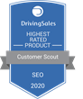 "Customer Scout Receives ""Highest Rated"" SEO Recognition on DrivingSales Vendor Ratings Platform"