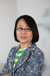 Portrait of Roswell Park Comprehensive Cancer Center epidemiologist Dr. Zhihong Gong