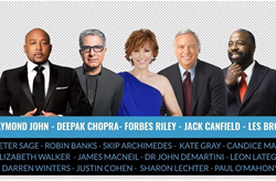 They say you are the sum of the five people you are closest to. That said, this stellar group of thought leaders and visionaries are a team to behold and join Feb 10th to the 19th www.ForbesRileyLive.com