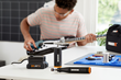 WORX MakerX Hub enables users to easily transport crafting tools to various work stations and project locations without need for electrical outlets.