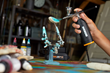 WORX MakerX  Air Brush is ideal for light duty and intricate jobs, such as painting fishing lures and models.