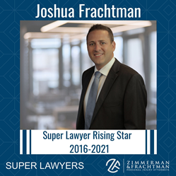 Joshua Frachtman of Zimmerman & Frachtman named Super Lawyers Rising Star