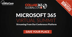 Microsoft 365 GlobalCon5 conference sponsored by KWizCom