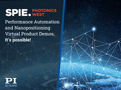 PI's virtual products demos for Photonics West 2021