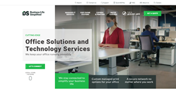 Document Solutions Homepage by Digital Silk