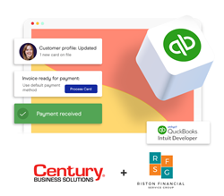 Riston and Century team up to bring seamless payment processing directly into QuickBooks.