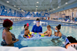 Big Blue has four curriculums of instruction, spanning 11 levels. Each child progresses to their next swim level as soon as they achieve the skills required, not when they complete a set number of cla