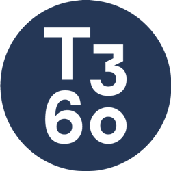 T360 Dark Blue Logo