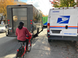 Conflict between shared mobility and delivery