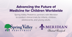 Meridian Clinical Research is partnering with Spring Valley Pediatrics in Washington, DC