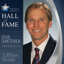 David Christensen Personal Injury Trail Attorney Wins Hall of Fame Award