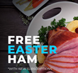 holiday ham, free ham Easter