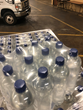 MV Transportation bottled water donation for Texas storm relief