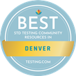 Testing.com Announces Best Free STD Testing Organizations in Denver, CO