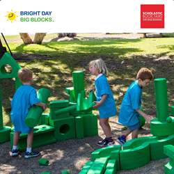 Bright Day Big Blocks are now available as a reward for scheduling running a Scholastic Book Fair