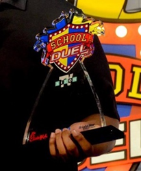 EDCO Awards & Specialties Sponsors School Duel with Championship Trophies