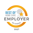 "Home Health Companions Awarded 3rd Consecutive ""Best of Home Care Employer of Choice"" Award"