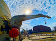 The Children's Museum of Indianapolis is getting into the game in a giant way for the NCAA Basketball Tournament.