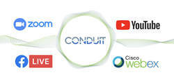 Conduit and third party streaming sites