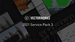 New updates and partnership with Epic Games is available in Vectorworks 2021 Service Pack 3.