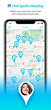 SelfieYo Chat for iPhone and Android Features Hyper Local, Public Chats, Photos and Videos
