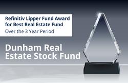 Dunham reçoit le prix Refinitiv Lipper Fund pour le Dunham Real Estate Stock Fund
