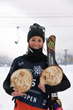 Monster Energy's Brita Sigourney Takes Third in Women's Freeski Halfpipe at the 2021 Land Rover U.S. Grand Prix in Aspen