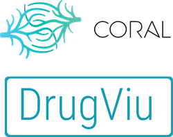 Coral and Drugviu Logos